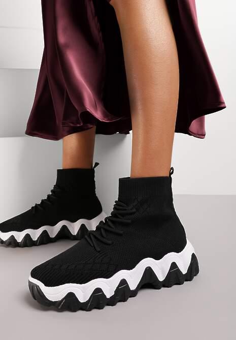 Czarne Sneakersy Sthyscorea