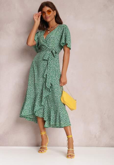 Zielona Sukienka Zinano