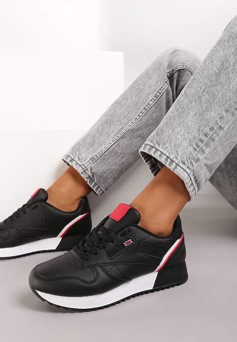 Czarne Sneakersy Zelyxo