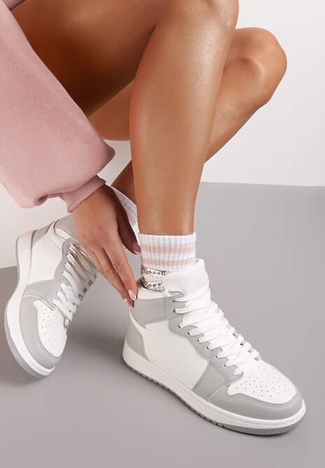 Biało-Szare Sneakersy Ciryse