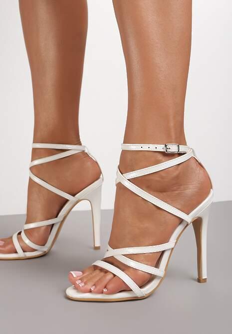 Białe Sandały Gulora