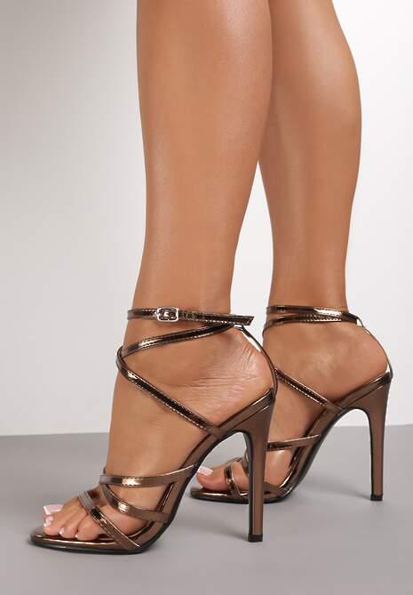Brązowe Sandały Gulora