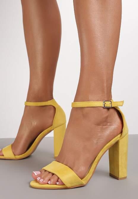 Żółte Sandały Shuwahi