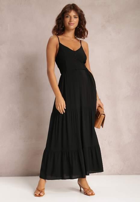 Czarna Sukienka Phiziva