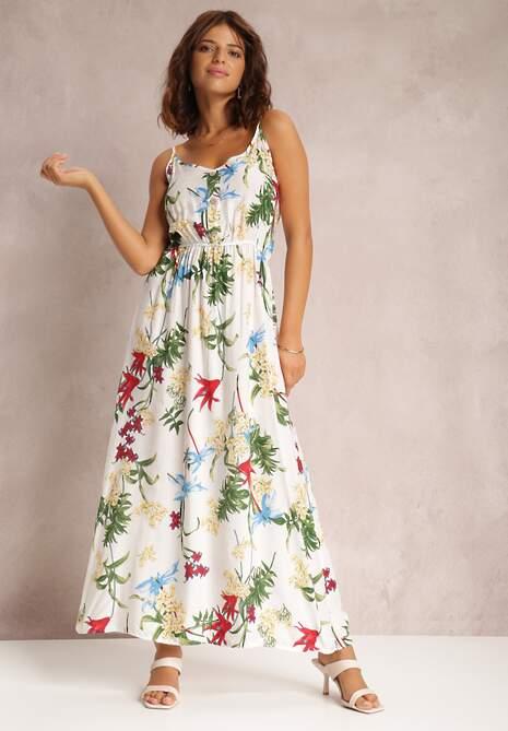 Biała Sukienka Chinculea