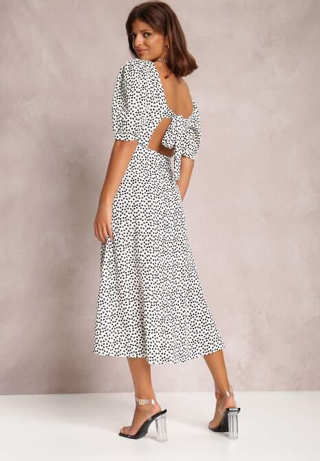 Biała Sukienka Reintore