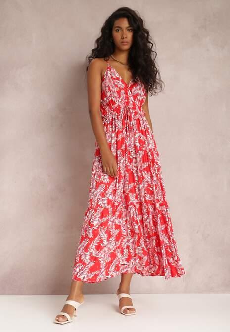 Czerwona Sukienka Madana