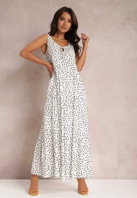 Biała Sukienka Callalura