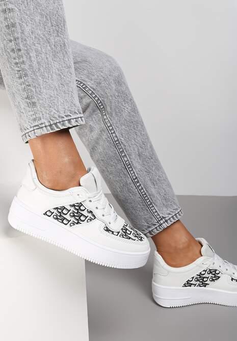 Białe Sneakersy Chethive
