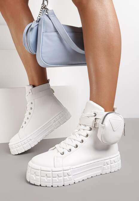 Białe Sneakersy Briagaza