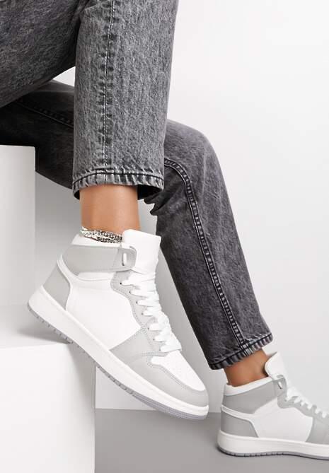 Biało-Szare Sneakersy Dodnusea
