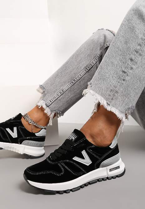Czarne Buty Sportowe Eos