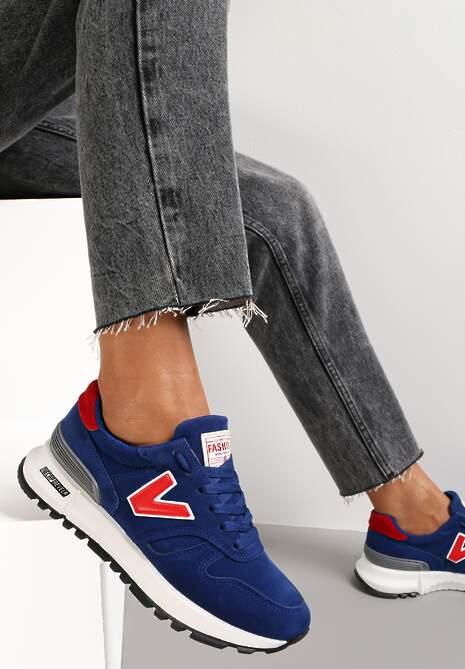 Niebieskie Buty Sportowe Eos