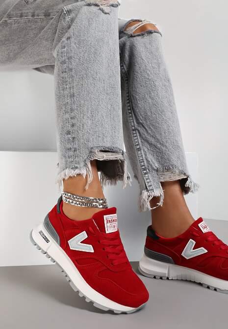 Czerwone Buty Sportowe Eos