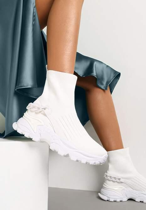 Białe Sneakersy Ephaen