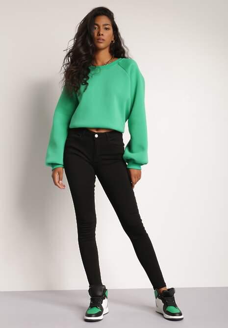 Czarne Spodnie Skinny Tanmorna