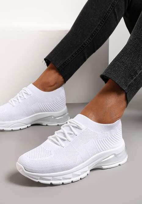 Białe Buty Sportowe Herchel