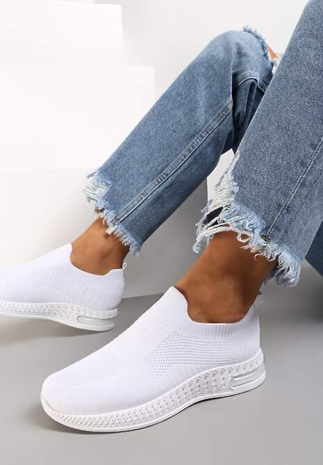 Białe Buty Sportowe Nyraphe