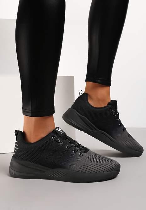 Czarno-Szare Buty Sportowe Hiniassi