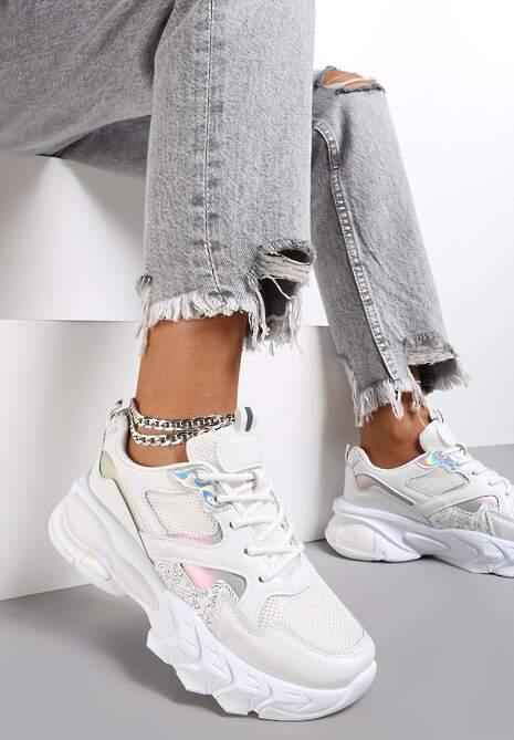 Białe Sneakersy Kelarane