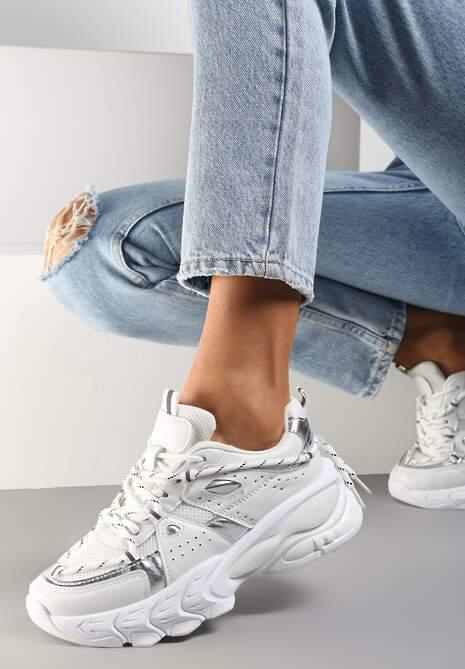 Białe Sneakersy Etana