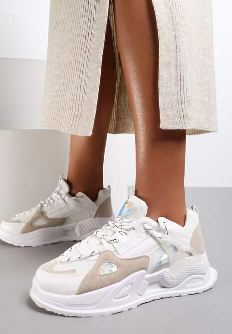 Białe Sneakersy Wrynn