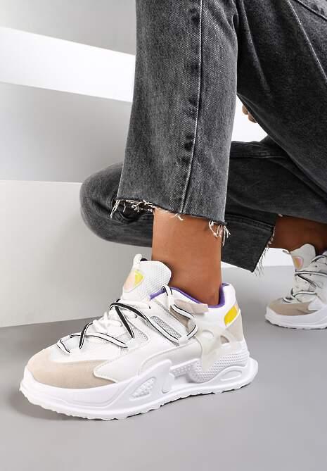 Białe Sneakersy Auralyn