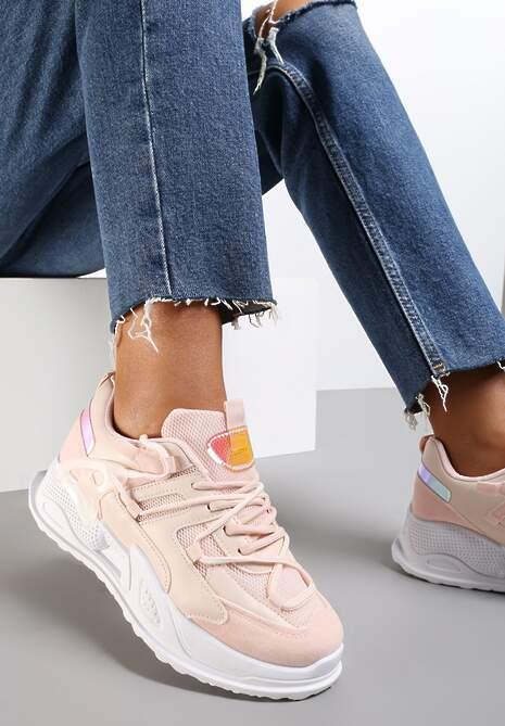 Różowe Sneakersy Auralyn