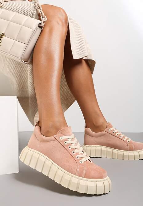 Różowe Sneakersy Ianthehe