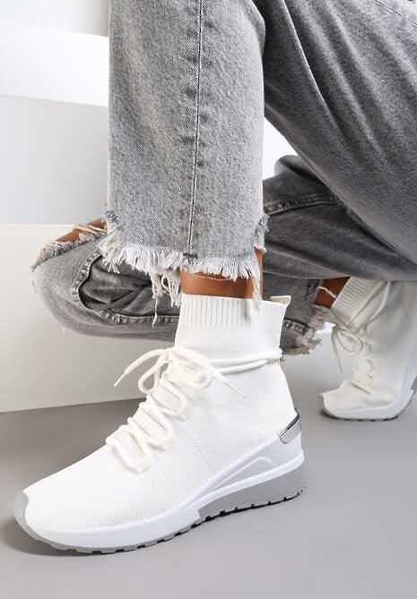 Białe Sneakersy Orany