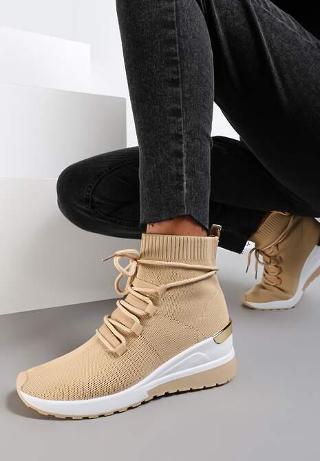 Khaki Sneakersy Orany