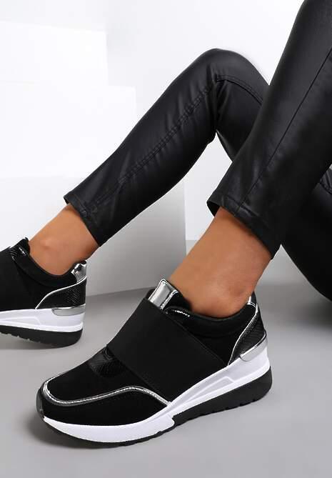 Czarne Sneakersy Akhazriel