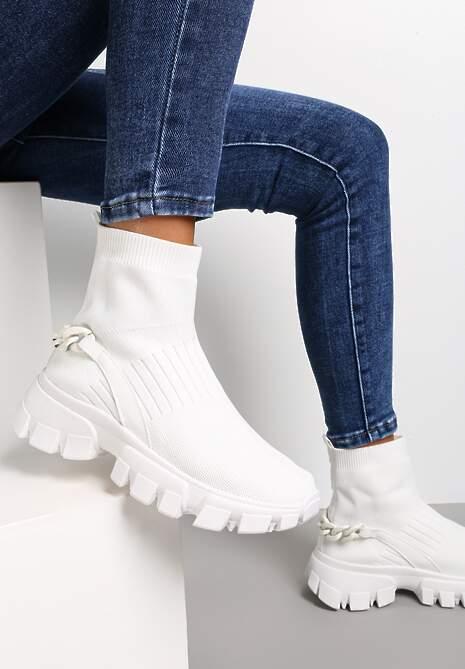 Białe Sneakersy Astissa