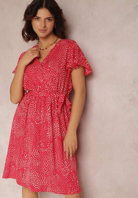 Czerwona Sukienka Oreithonia