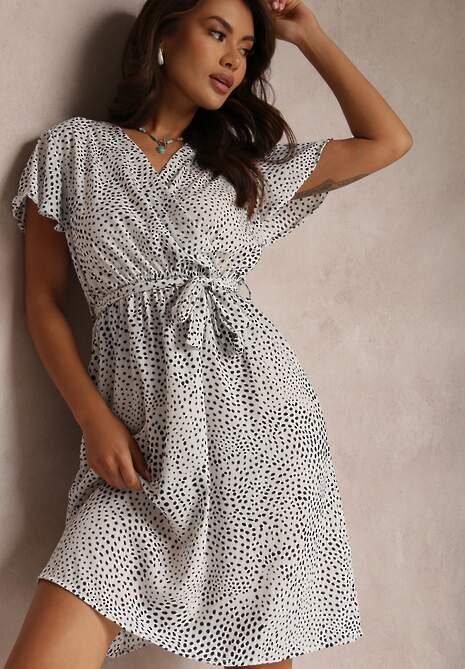 Biała Sukienka Oreithonia