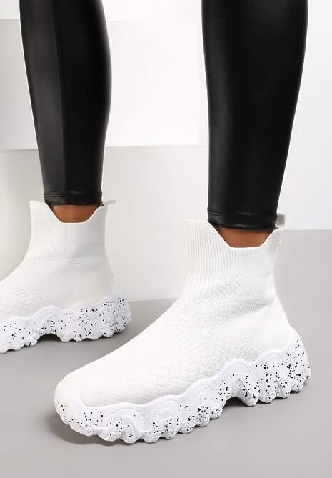 Białe Sneakersy Calameia