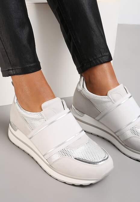 Szare Sneakersy Hesiopis