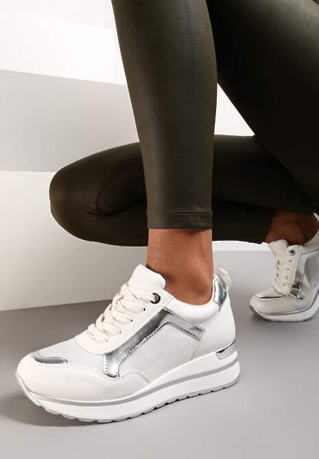 Białe Sneakersy Laodythia