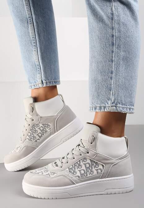 Szare Sneakersy Salalirea