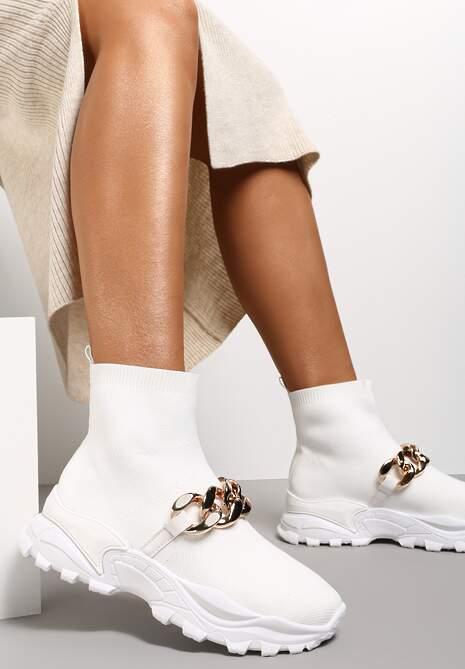 Białe Sneakersy Lycape