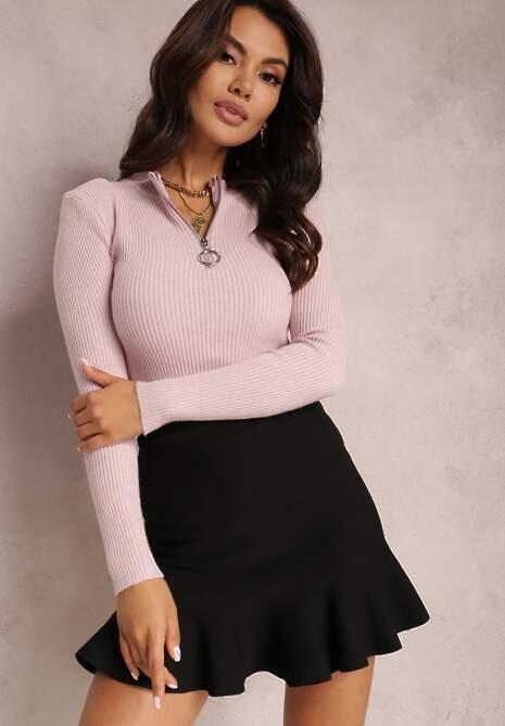 Różowy Sweter Astania