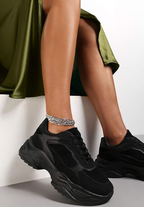 Czarne Sneakersy Physarope