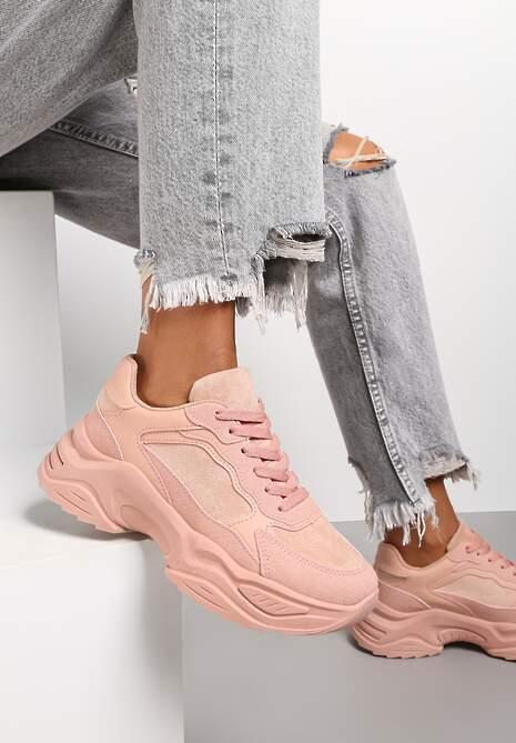 Różowe Sneakersy Physarope