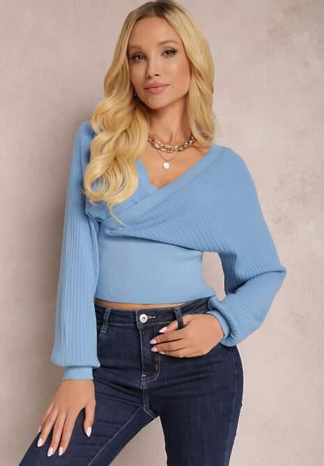 Niebieski Sweter Kallousa
