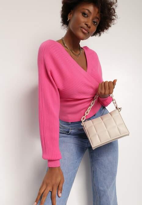 Różowy Sweter Kallousa