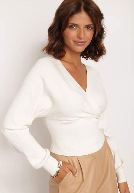 Biały Sweter Kallousa