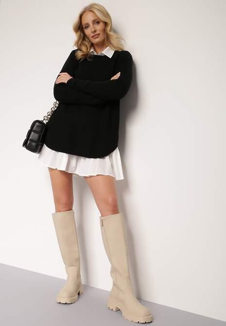 Czarny Sweter Oryse