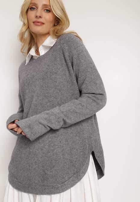 Ciemnoszary Sweter Oryse
