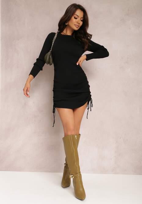 Czarna Sukienka Haidiala