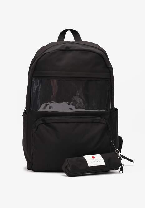 Czarny Plecak Adynome